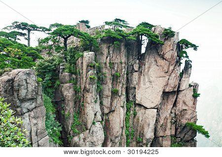 Huangshan Set Of Peaks