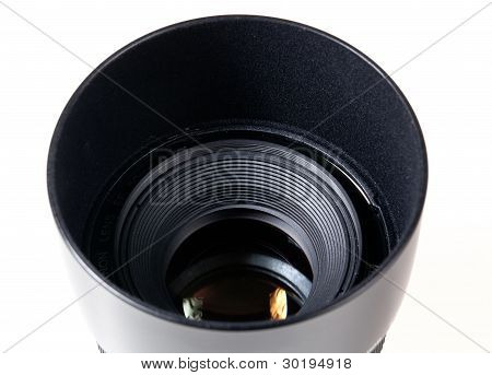 Lens Hood And Lens