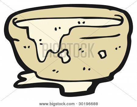 mixing bowl cartoon