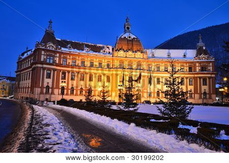 Government Of Brasov County, Transylvania, Romania