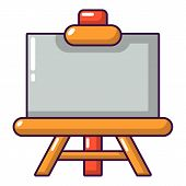 Canvas Icon. Cartoon Illustration Of Canvas Icon For Web poster