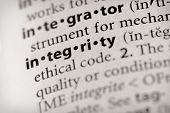 Dictionary Series - Attributes: Integrity