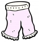 stock photo of knickers  - big knickers cartoon - JPG