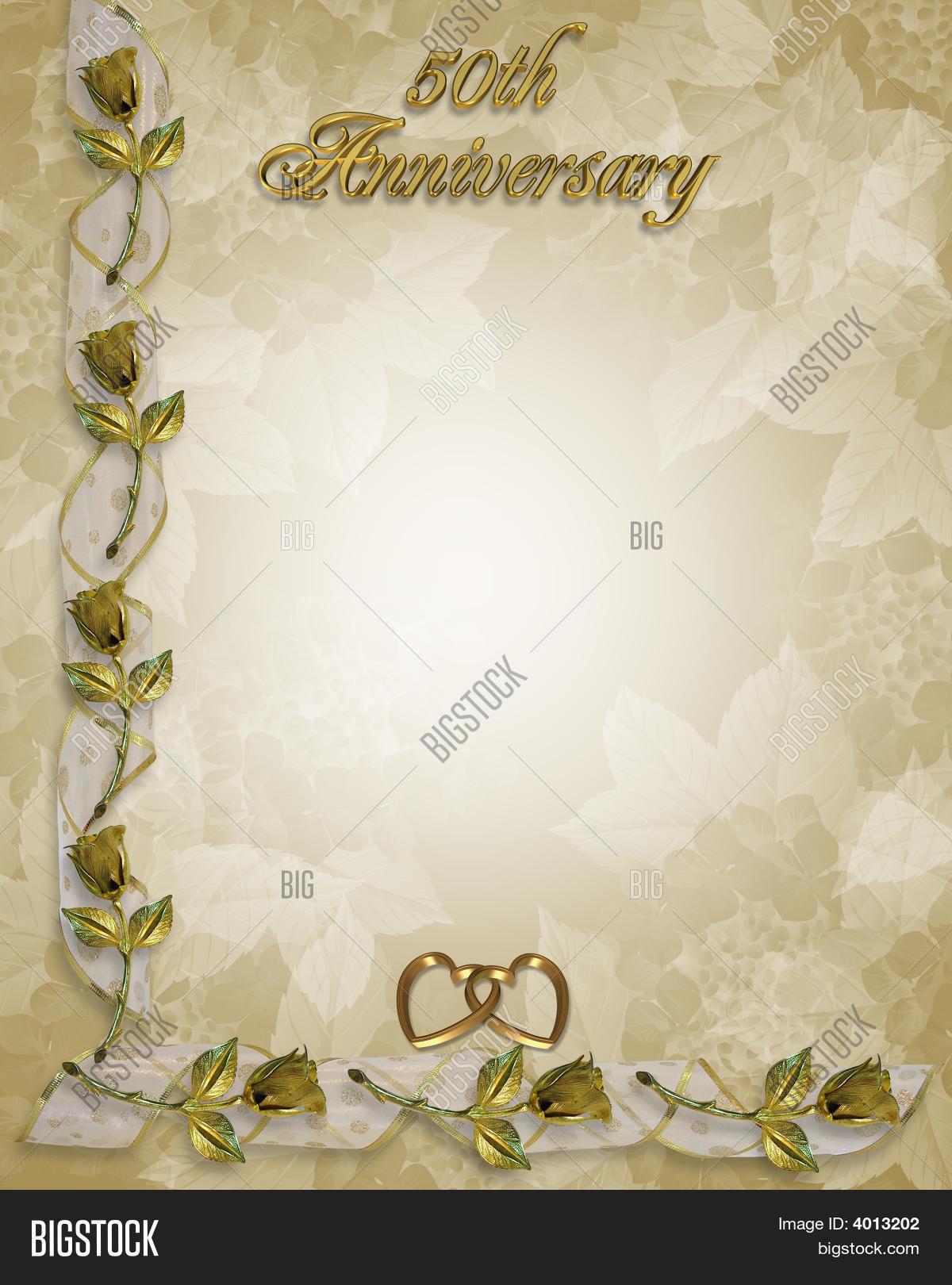 50Th Wedding Anniversary Golden Image Amp Photo
