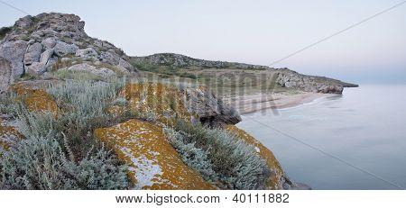 Summer Morning On The Crimea Coast