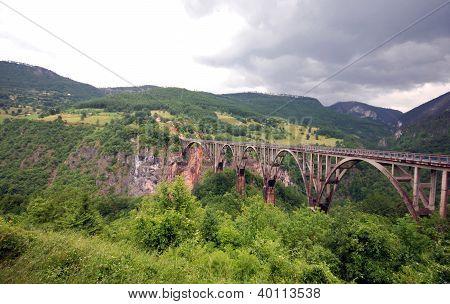 Tara Bridge,  Montenegro.