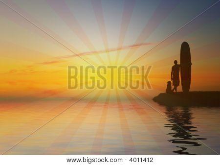 Retro_Surfer_Sunset