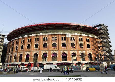 Bullring Arenas. Barcelona