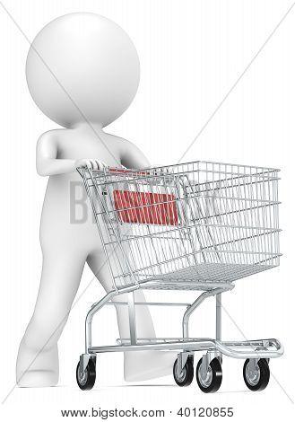 Shopping Trolley.