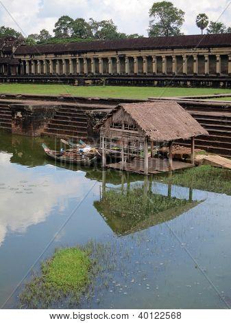 Historic home near Angkor Wat