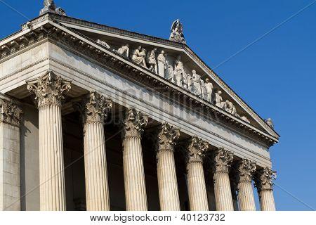 neoklassischen Gebäude fo der