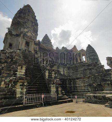 Ancient towers of Angkor Wat