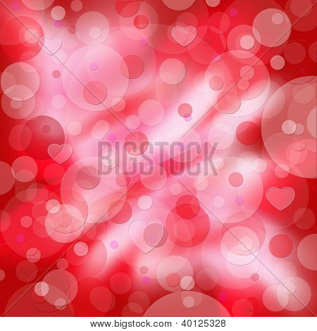 Background Valentine's Day In Pink And Red Colors