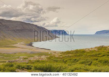 View On Latrabjarg - Iceland
