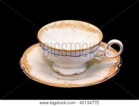 Expensive Porcelain Teaset Tea Cup And Saucer