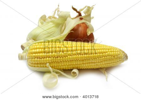 Corn And Onion