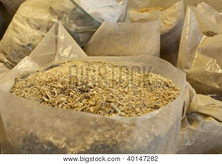 Bags With Sawdust