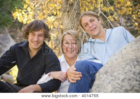 Single Mom With Her Teenage Boys 2