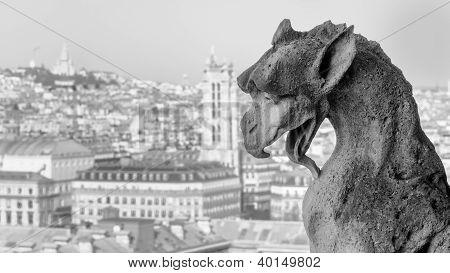 Gargoyle and Montmartre