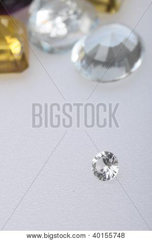 Macro Of Diamond