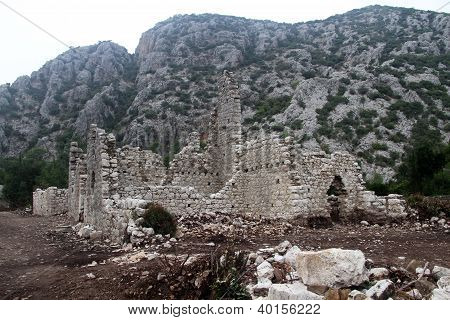 Ruins In Olimpos