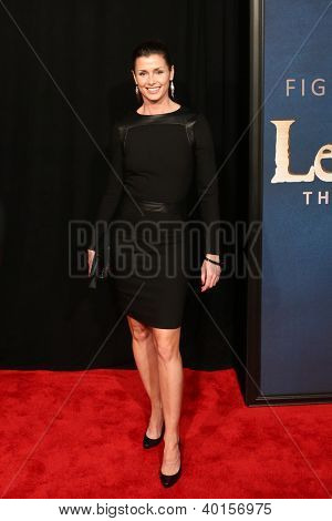 "NEW YORK-DEC 10: Actress Bridget Moynahan attends the premiere of ""Les Miserables"" at the Ziegfeld Theatre on December 10, 2012 in New York City."