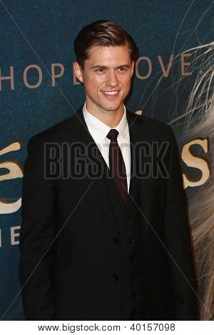 NEW YORK-NOV 18: Actor Aaron Tviet attends the premiere of