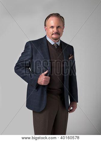 Portrait Of A Smart Mature Businessman