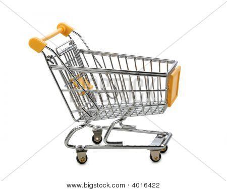 Yellow Shopping Cart