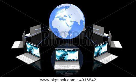 Black Laptops Aroun The World