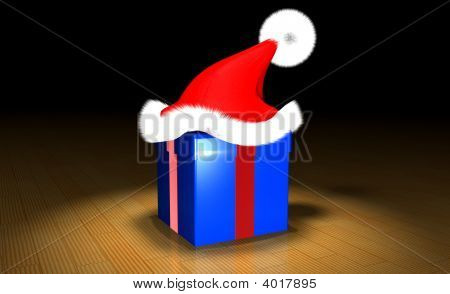 Gift With Red Hat