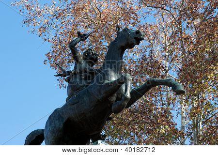 Anita Garibaldi monumento
