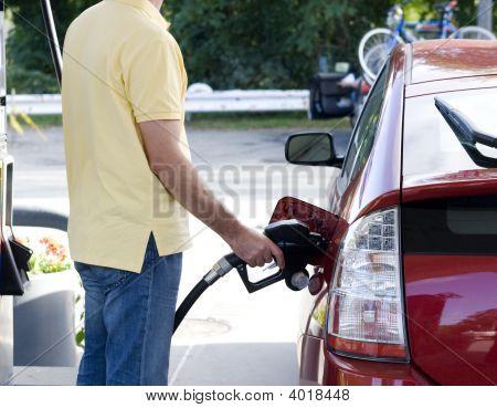 Llenado de gasolina