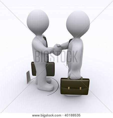 Handshake Is Being Sabotaged