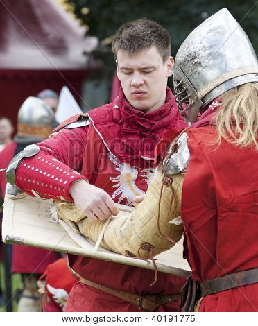 Knights Fighting
