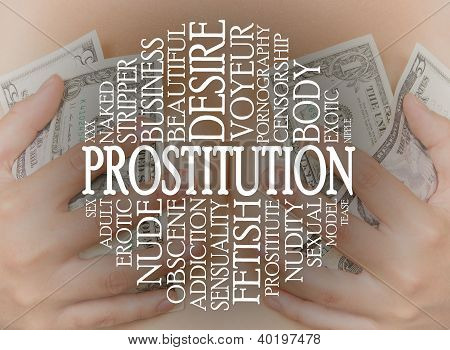 Prostitution Konzept