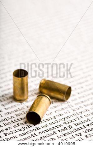 Bullets On Iraqi Cities