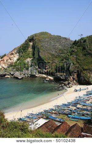 Ngrenehan beautiful beach
