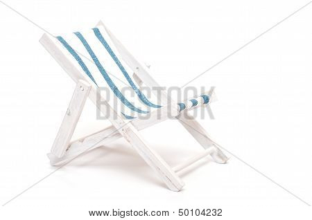 Beach Chair With Text Space
