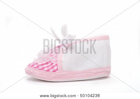 Bootie On White Background