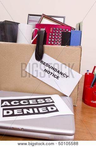 Jobless and Redundant
