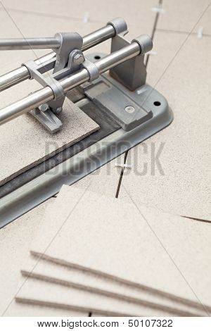 Cutting Tiles With Tilecutter