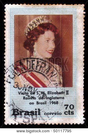 Elizabeth Ii, Queen Of England In Brazil