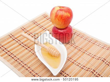 Tower Of Apples And Honey