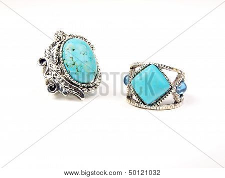 Jewelry - Turquoise Rings