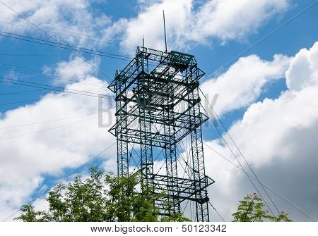 Construction Site Sling Tower