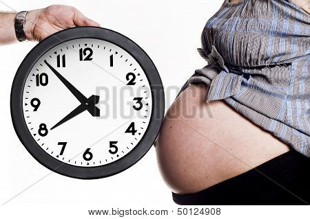 Belly And Clock