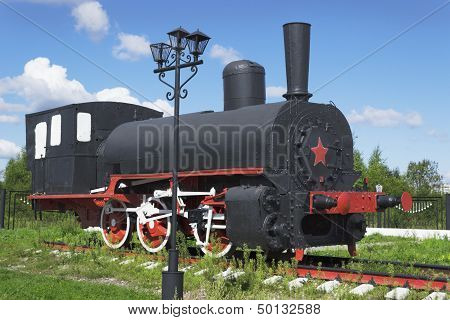 Russian Industrial Locomotive Beginning Of The 1900S