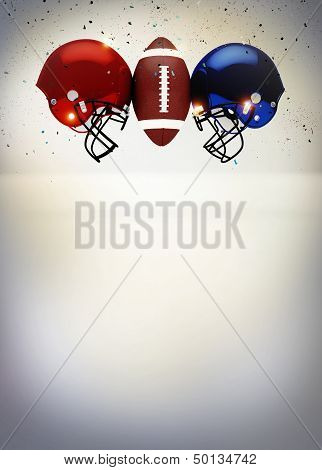 Abstract American Football Background