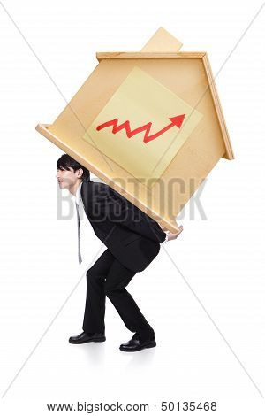 Young Man With Heavy Home Loan